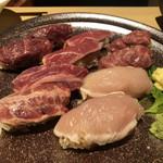 肉ずしと酒肴 じゅげむ  - 肉寿司