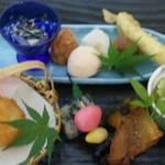 創作日本料理 とものえ亭 - 6月 せせらぎ 弁当