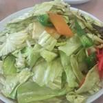 蘭蘭 - 野菜炒めどーん