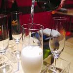 Italian Barcafe KIMURAYA - 名物こぼれスパークロング