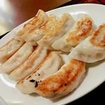 餃子市場 - 餃子定食 焼き餃子5、海老餃子5