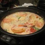 十焼十鍋 - トマトクリーム鍋