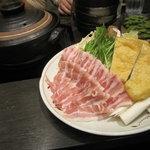 十焼十鍋 - 豆乳メレンゲ鍋の具