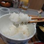 松丸米店 - 料理写真:ご飯の甘みを感じる幸せ