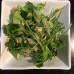 上海小籠包厨房 阿杏 - 選べる点心ランチセットA(サラダ)