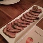 カジュアルワインバル moncozy - 合鴨のパストラミ