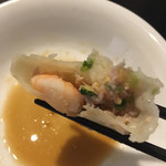 上海小籠包厨房 阿杏 - 三鮮蒸餃子