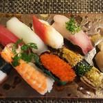玄海鮨 - 竹にぎり  俯瞰