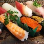 玄海鮨 - 竹にぎり  アップ