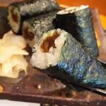 玄海鮨 - カンピョウ巻き(サビ入り)通ぶってみました