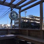 CAFÉ umie - テラス席からの眺め