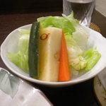 10118521 - インド国旗カラーをモチーフとしたサラダ