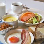 お食事処 庄屋 - 朝食セット