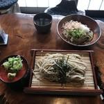 蕎麦 ふる里 - 料理写真:ざるそば&おろしそば