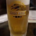 居酒屋おさない - 生ビール(470円)