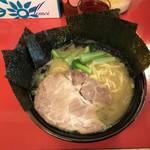 鶴田家 - 小松菜と増しても6枚しかない海苔