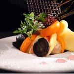 テイストシックス - 季節の果実を使った大人の皿パフェ☆パティシエ初挑戦の皿パフェを是非お試しあれ♪