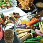 テイストシックス - 同窓会・歓送迎会は自慢のお野菜コースでいかが??満足の無制限プランをご用意してます♪