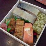 八瀬大岩 - 押し寿司