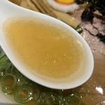 らー麺専科 海空土 - スープ