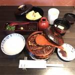 うなぎ 蓬春 - ひつまぶし3200円+うまき860円