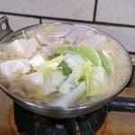 すき焼・鍋物 なべや - ☆たらちり(味噌)980円