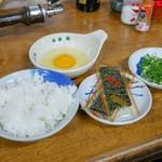 すき焼・鍋物 なべや - ☆雑炊セット 220円