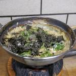 すき焼・鍋物 なべや - ☆〆の雑炊