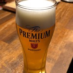 炭火とワイン 京都駅前店 - 生ビール