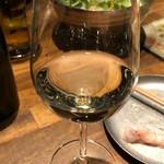 炭火とワイン 京都駅前店 - 白ワイン「ブッフォン」