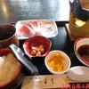 舟屋 - 料理写真:ぶりしゃぶ小鍋定食 \1600