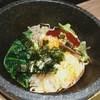 虎 - 料理写真:石焼きビビンバ