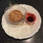 菊春 - デザートのわらびもち