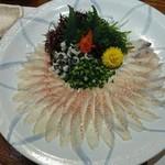 魚料理専門 魚魚一 - 「うなぎの刺身」