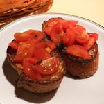 ホスタリア エル・カンピドイオ - ブルスケッタのトマトのせ
