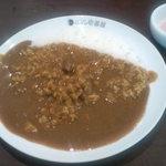 10120552 - 納豆カレー、半熟タマゴ、3辛(1辛の約4倍)