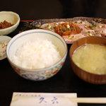 久六 - 2011/10 金目鯛おろし定食