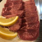 焼肉 大門 - 料理写真:塩タン  2