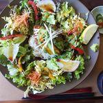 野ノ花 - 料理写真:つくねバーグロコモコ御膳(ご飯少なめで注文)
