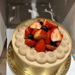 シャトレーゼ - ●チョコ生クリームデコレーション18cm  2,916円