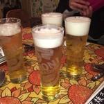スパッカ ナポリ - とても凄く美味しかったイタリアのビール       こちらのお店でしか高松にはありません(香川だったかな)       来たら飲んでみて 絶対におススメ