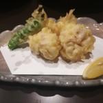 仕事人 - 料理写真:白子の天ぷら