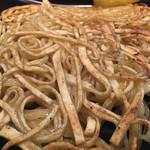 四代目けいすけ - 麺焼き…焼き面はパリパリ、中はモチっと