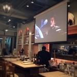 decollo - 大きなスクリーンが!