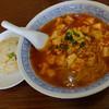 """華林 - 料理写真:""""マーボー麺と半チャーハン"""""""