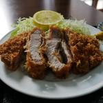 ほづみとんかつ店 - ロースカツ定食(大)