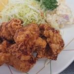 魚忠食堂 - 唐揚げアップ