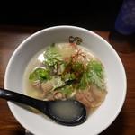 めーめー麺 - 山羊そば 塩¥880(19-02)