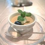 レストラン ラタン - ほうじ茶のムース