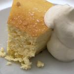 茶るら - チーズケーキの断面